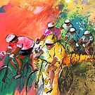 The Yellow River Of The Tour De France by Goodaboom