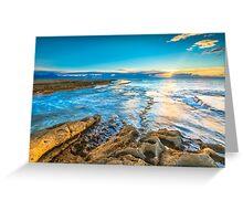 Sunrise at Cap de l'Horta Greeting Card
