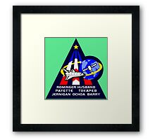 Space Shuttle Discovery STS-96 Framed Print