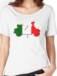 Vespa Italia Women's Relaxed Fit T-Shirt
