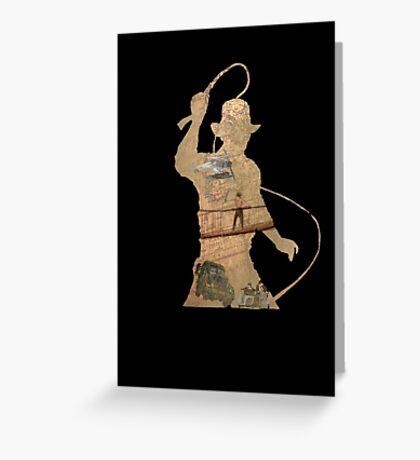 Indiana Jones- Trilogy  Greeting Card