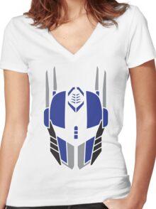 Optimus Prime Women's Fitted V-Neck T-Shirt