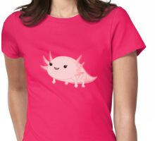 Axolotl baby kawaii Womens Fitted T-Shirt