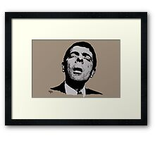I see what you´re doing... Framed Print