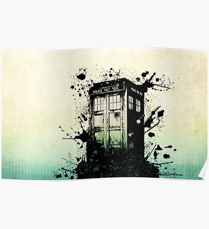 Doctor Who Work Tardi Poster