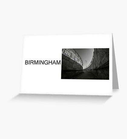 BIRMINGHAM concrete Greeting Card