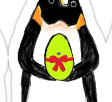Easter Bunny-Penguin Sticker