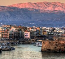 Heraklion Sunrise Sticker