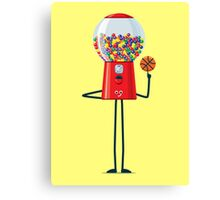 Character Building - Gumball Basketballer Canvas Print