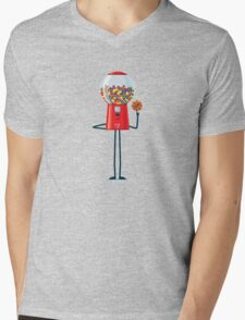 Character Building - Gumball Basketballer Mens V-Neck T-Shirt