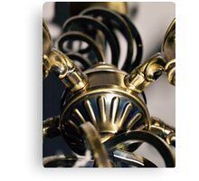 STEAMPUNK ABSTRACT BRASS METALWORK Canvas Print