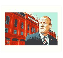 In Warburton We Trust Art Print