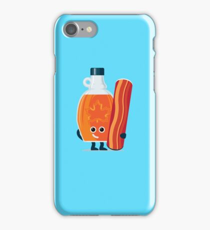 Character Building - Maple & Bacon iPhone Case/Skin