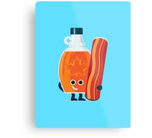 Character Building - Maple & Bacon Metal Print