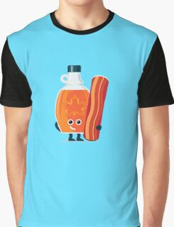 Character Building - Maple & Bacon Graphic T-Shirt