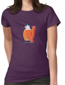 Character Building - Maple & Bacon Womens Fitted T-Shirt