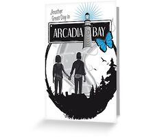 Life Is Strange Arcadia Bay Greeting Card