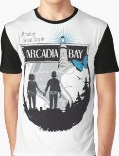Life Is Strange Arcadia Bay Graphic T-Shirt