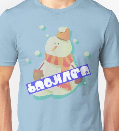 Splatfest - SNOWMAN Unisex T-Shirt