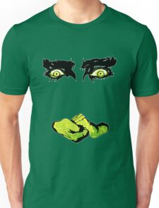 White Zombie (1930s Zombie Film - eyes and hands only) Unisex T-Shirt