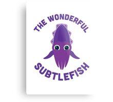 Character Building - The Wonderful Subtlefish Metal Print