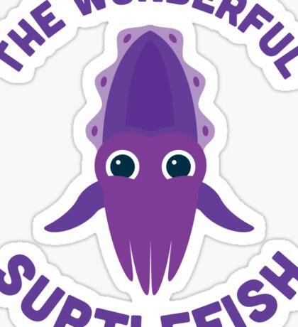 Character Building - The Wonderful Subtlefish Sticker