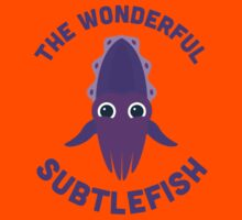 Character Building - The Wonderful Subtlefish Kids Tee