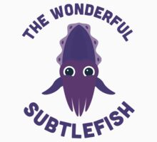 Character Building - The Wonderful Subtlefish Baby Tee