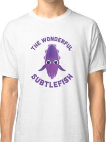 Character Building - The Wonderful Subtlefish Classic T-Shirt
