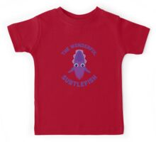 Character Building - The Wonderful Subtlefish Kids Tee