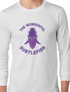 Character Building - The Wonderful Subtlefish Long Sleeve T-Shirt