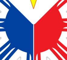 Philippines Sun and stars flag Sticker