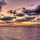 Sunrise in the Aegean by Tom Gomez