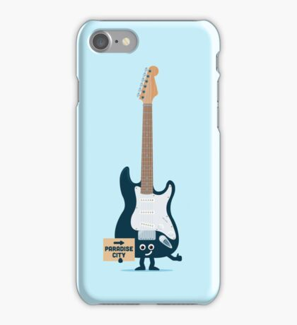 Character Building - TRake me down to the paradise city iPhone Case/Skin