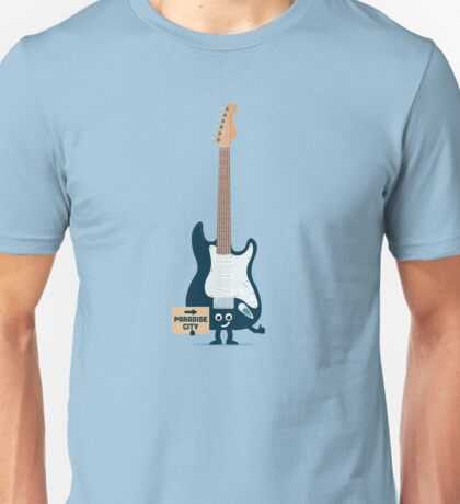 Character Building - TRake me down to the paradise city Unisex T-Shirt