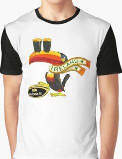 GUINNESS IRISH RUGBY AMERICAN FOOTBALL Graphic T-Shirt