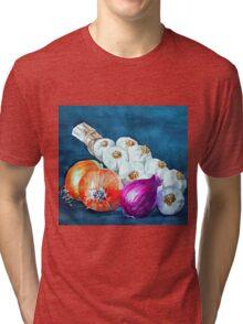 Alliums Tri-blend T-Shirt