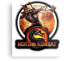 Mortal Kombat Metal Print