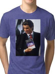 Neon genesis evangelion american psycho Tri-blend T-Shirt