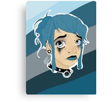 EMO-GIRL Canvas Print