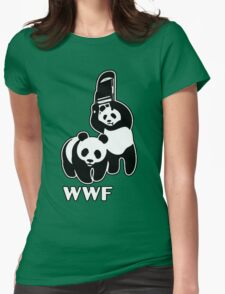 WWF [Alternative Version] Womens Fitted T-Shirt
