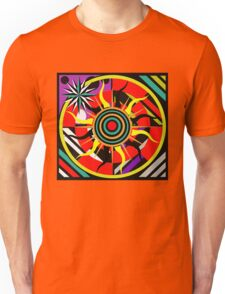 Tribal Sun Dial Unisex T-Shirt