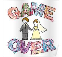 Funny wedding, Game Over. Poster