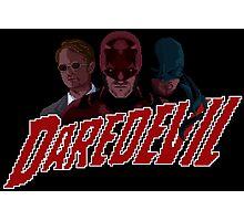Daredevil pixel logo Photographic Print