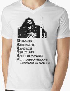 Attila, Flagello di Dio (A) Mens V-Neck T-Shirt