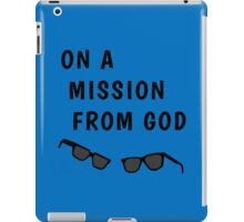 "Blues Borthers: ""On a Mission From God"" iPad Case/Skin"