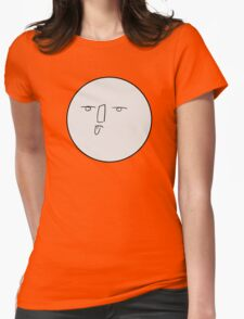 Bleh moon Womens Fitted T-Shirt