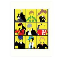 Persona 4 golden cast Art Print