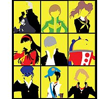 Persona 4 golden cast Photographic Print