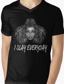 I Slay Everyday Mens V-Neck T-Shirt